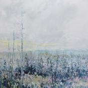 original painting landscape trees