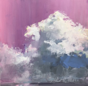 DAY 25-Clouds in the pink, 12x12*
