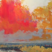 Between the Tamaracks and Clouds36x72*