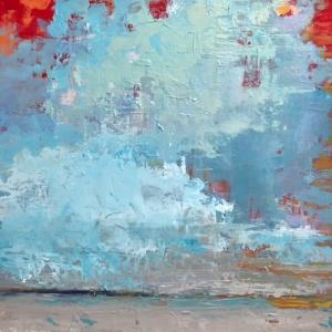 12x12 Blue Clouds*