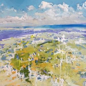 Day 25 12x12 Abstract Coast*