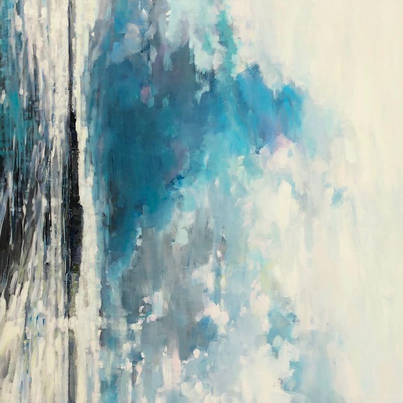 aura, Gabriella Collier landscape paintings
