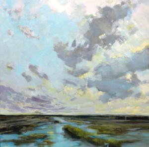 after rain, Gabriella Collier landscape paintings