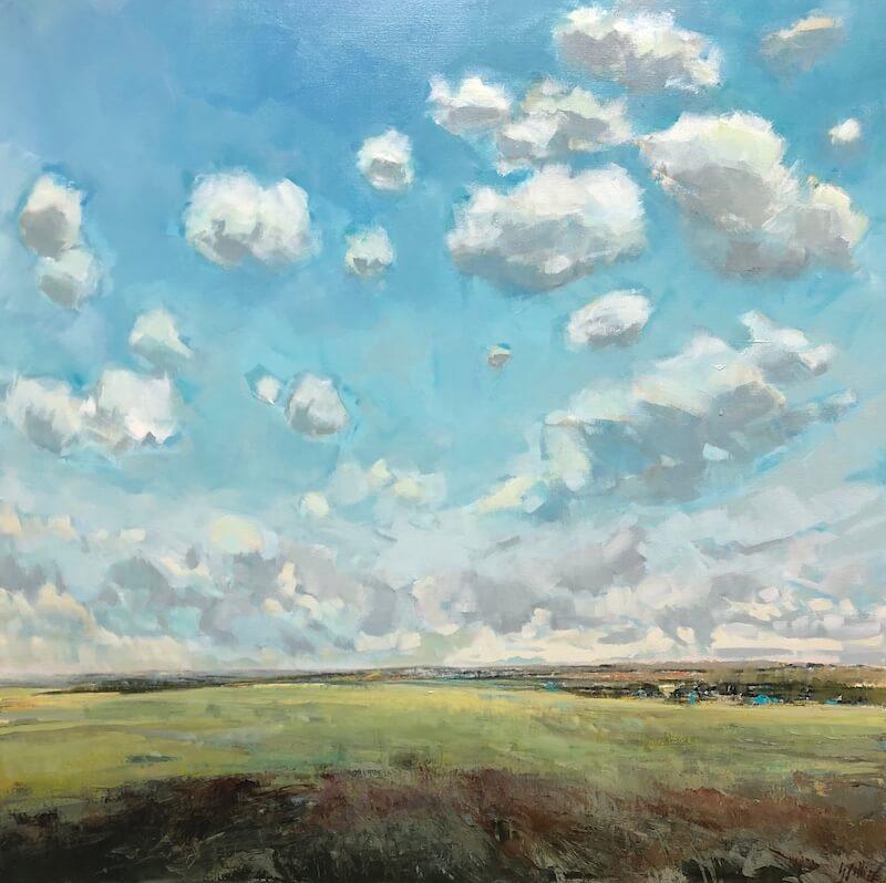 vicinal, Gabriella Collier landscape paintings