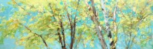 Tree Canopy, Gabriella Collier landscape paintings