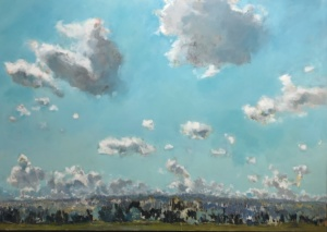 over the Escarpment, Gabriella Collier landscape paintings