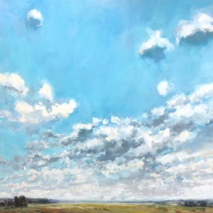 True Sky, Gabriella Collier landscape paintings