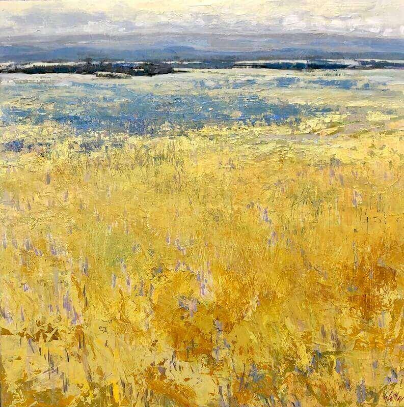 Acreage, Gabriella Collier landscape paintings