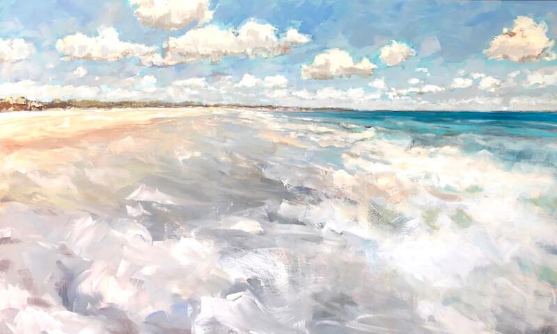 Natural Flow, Gabriella Collier landscape paintings