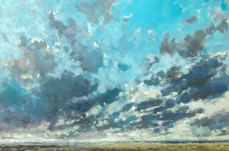 Veiling Light, Gabriella Collier landscape paintings
