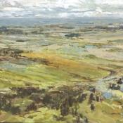 division of lands 2, landscape painting