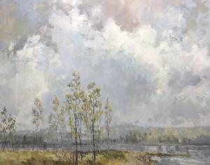 stillness, landscape painting