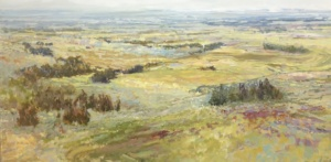 30x60 Township 2, landscape painting