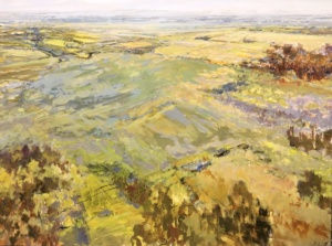 Clearview Township 1, landscape painting