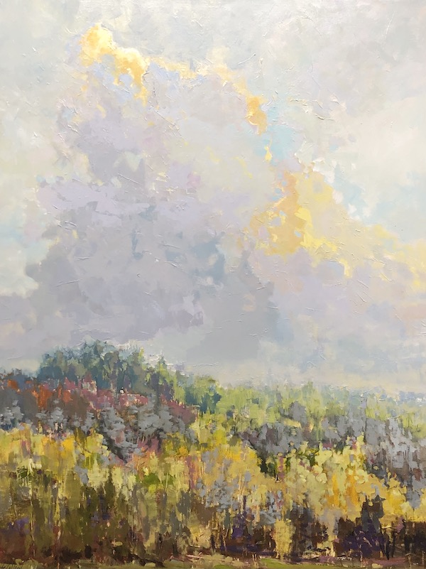 Gleam of Gold, landscape painting