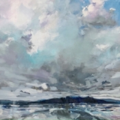 Blanketed Isle, original art