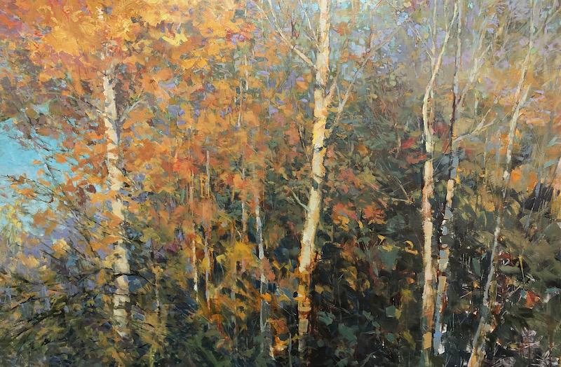 Catching Colours, landscape art, original art