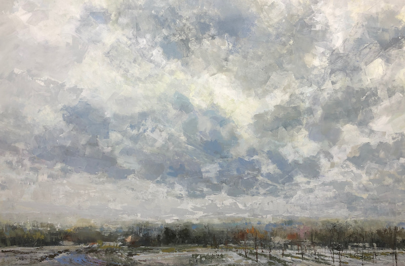 First Blanket, Landscape Painting, original art
