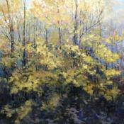 Natures show, Landscape painting, original art